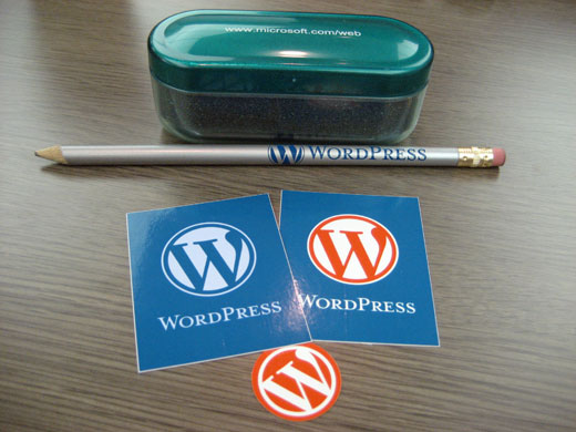 WordPressのグッズetc